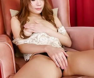 Pretty asian babe ayaka fujikita toying pink pussy - part 528