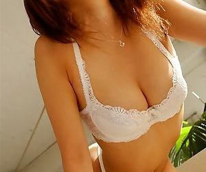 Asian cutie sumira flashing her hot tits and pussy - part 3677