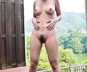 Japanese girl gets masturbated outside - part 188