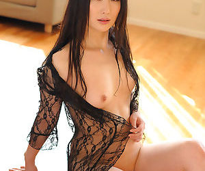 Sultry japanese babe probed with sexy toys - part 4147