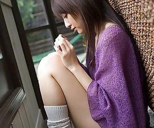 Asian misa shinozaki poses in panties showing tits - part 2064