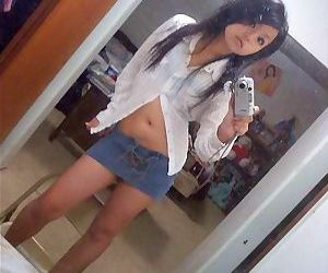 Compilation of an asian chick selfshooting in her bedroom - part 507