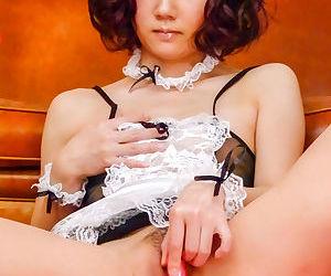 Lovely japanese babe in lingerie - part 4258