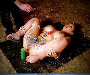 Japanese hotwax bondage of tortured asian slave girl tigerr juggs - part 4087