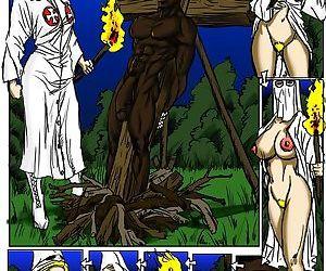 Klan Roast- illustrated interracial