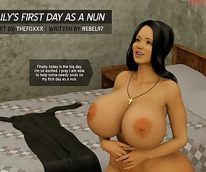 The Foxxx- Lily's First Day as a Nun