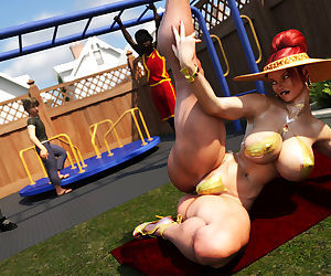 Morgan – Playground Fun- Zz2tommy