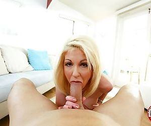 Pink panties blonde milf showing her unmatched blowjob skills in pov - part 1864