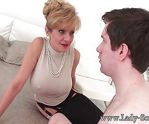 Mature bitch sonia spreading her shaved pussy and legs for cucko - part 3137