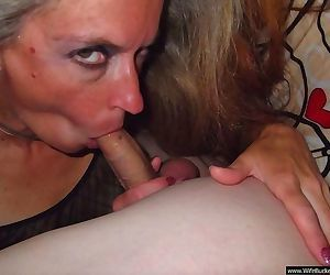 Hot sex with a delicious mature wife - part 3196