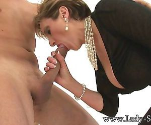 British milf lady sonia loves to play fetish games - part 3272