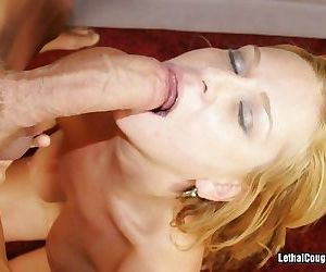 Hot cougar violet is ready to fuck - part 2942