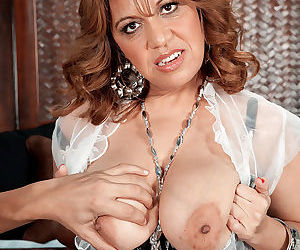 Busty marisa carlo sucking a big cock - part 941