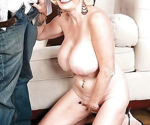 Mature lady with huge tits going atm after deep anal fucking - part 3190