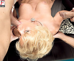 Busty horny milf trixie blu craving two huge cocks - part 321