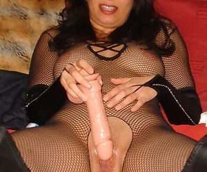 Amazing milf gf masturbates with dildo - part 11