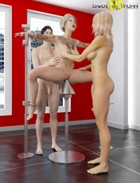 Is she enjoying this threesome or hating it - part 511