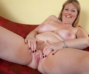Mature plumper takes off her clothes one piece at a time until shes naked