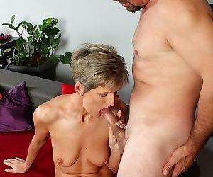 Horny granny melanie getting fucked hard - part 78