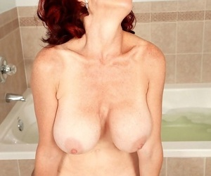 Redhead mature karen kougar ass-fucked and facialized - part 4695
