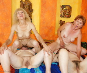 A very special kinky mature lesbian sexparty - part 676