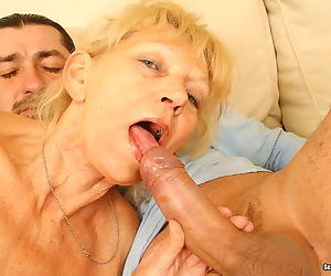 Sexy granny lady getting nailed her sweet old pussy - part 4756