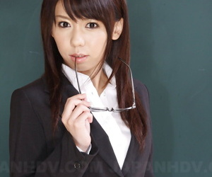 Japanese schoolteacher Maho Sawai dons blindfold and gag after showing bush