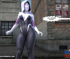 Mega Parodies Comics Collection Spider Gwen 3 - part 2