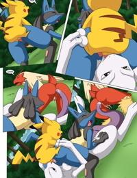 Palcomix- Pokemon Female Squad