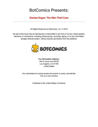 Bot- Stanley Rogue- The Skin Thief Case Issue 1