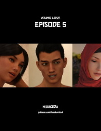 Hijab 3DX- Young Love Vol. 5
