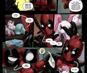 Tracy Scops- DeadPool Thinking With Portals
