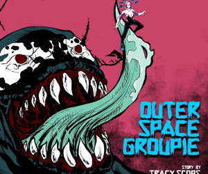 Tracy Scops- Outerspace Groupie- Edgar Duran
