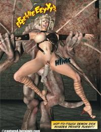 Captured Heroines- Dana Darks – Demon Hunter