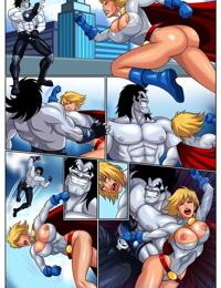 Horny Superheroines- Justice League