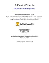 Bot- Boss Bitch- Queen of the Neighborhood 1