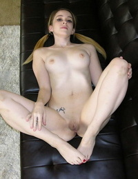 Teen girl alexia gold in pigtails spreads her ass - part 4616