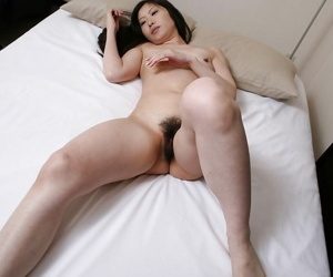 Shy asian MILF gives head and has some pussy fingering and licking fun