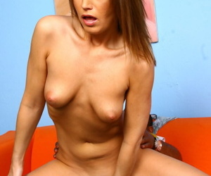Lovely Sky Rodgers gets banged by a black stranger in hot cuckold session