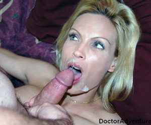 Hot lady doctor Diamond Foxxx pleasures a man that is partially paralyzed