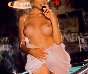 Fantastic Playboy dolls show off their perky boobs and furry pussies