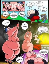 Three Pretty Piggies Meet The Big Beauti…