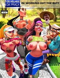 Old Geezers - Os Velhos Da Praca 6 Malhando O Bumbum // Pernalonga JohnPerson Tufos Porn Comics