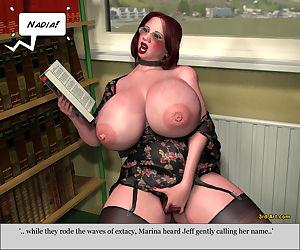 3Darlings Model Nadia at the Library - part 3