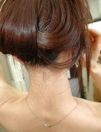 Asian teenager Ayane Fukumori unveils her petite curves while taking shower