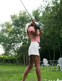 Japanese teenage golfer upskirt - part 2823