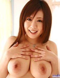Chesty redhead asian nana showing titties and pussy - part 1648