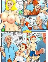 Milftoon- Mort and Ricky
