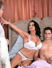 Analloving mature and her cuckold spouse - part 4335