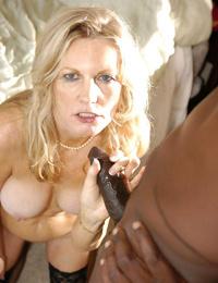Black cock loves fucking white granny girl - part 5032